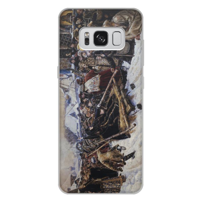 Printio Чехол для Samsung Galaxy S8 Plus, объёмная печать Боярыня морозова (картина в. и. сурикова)