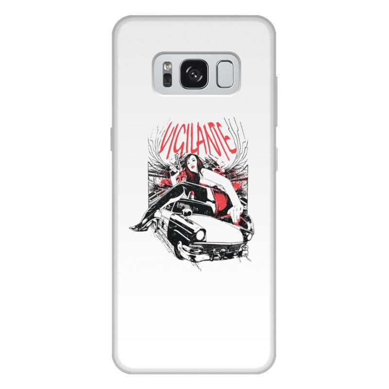Фото - Printio Чехол для Samsung Galaxy S8 Plus, объёмная печать Vigilante printio чехол для samsung galaxy s8 plus объёмная печать vigilante