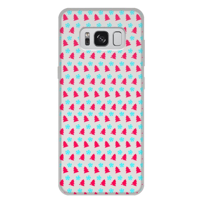 Printio Чехол для Samsung Galaxy S8 Plus, объёмная печать С новым годом!