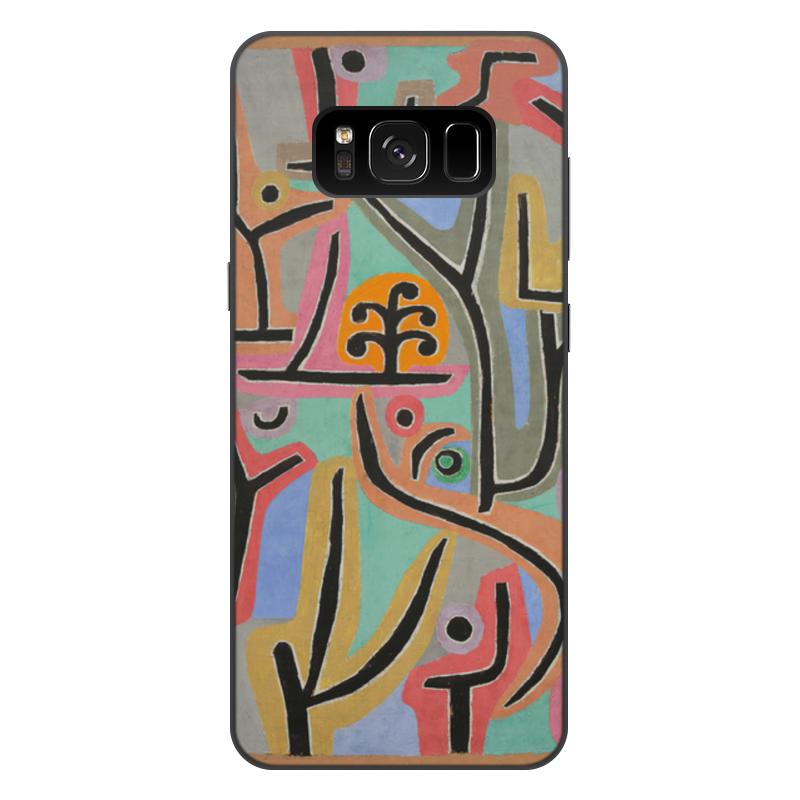 Фото - Printio Чехол для Samsung Galaxy S8 Plus, объёмная печать Парк возле лю (пауль клее) printio женские пижамные штаны парк возле лю пауль клее