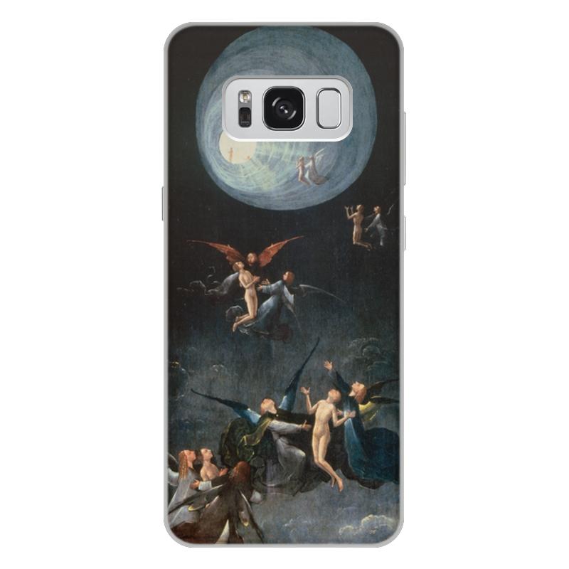 Фото - Printio Чехол для Samsung Galaxy S8 Plus, объёмная печать Блаженные и проклятые (восхождение в эмпирей) printio чехол для samsung galaxy s8 plus объёмная печать ад ад и потоп створки алтаря иеронима босха
