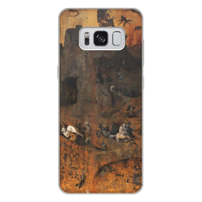 Фото - Printio Чехол для Samsung Galaxy S8 Plus, объёмная печать Ад (ад и потоп (створки алтаря иеронима босха)) printio чехол для samsung galaxy s8 plus объёмная печать ад ад и потоп створки алтаря иеронима босха