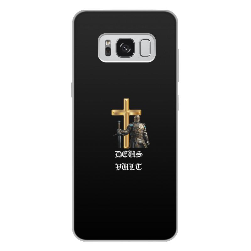 Фото - Printio Чехол для Samsung Galaxy S8 Plus, объёмная печать Deus vult. крестоносцы printio чехол для samsung galaxy s8 объёмная печать deus vult крестоносцы