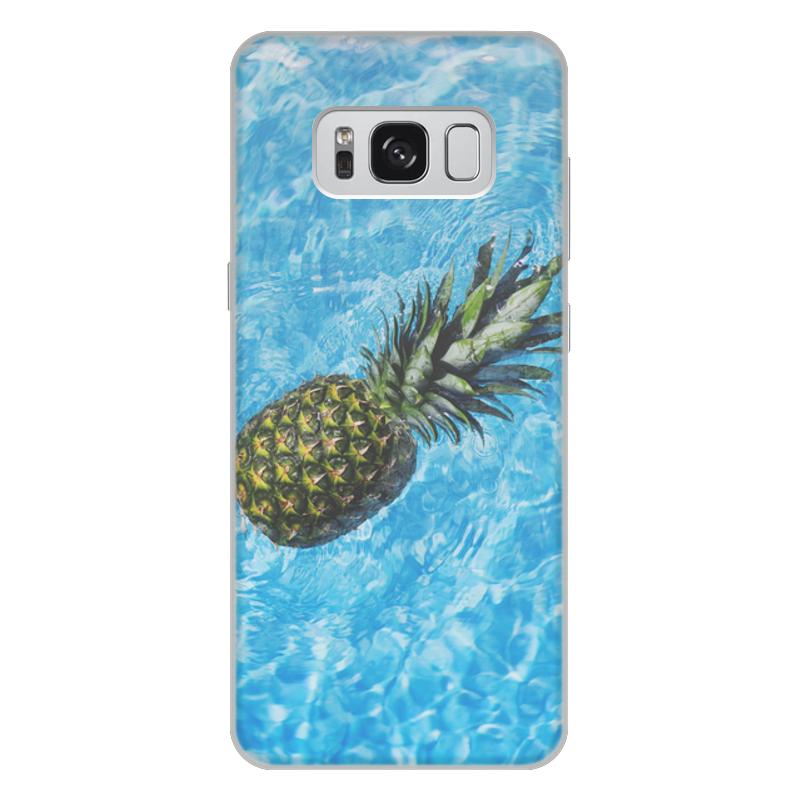 Printio Чехол для Samsung Galaxy S8 Plus, объёмная печать Лето!