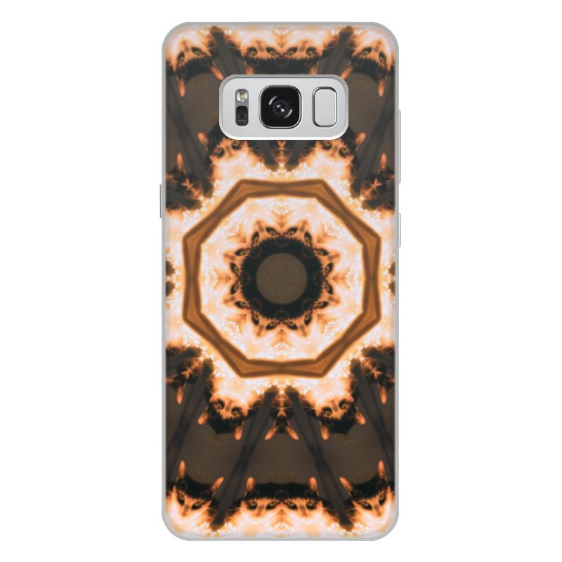 Фото - Printio Чехол для Samsung Galaxy S8 Plus, объёмная печать Кошка и огонь printio чехол для samsung galaxy s8 plus объёмная печать vigilante