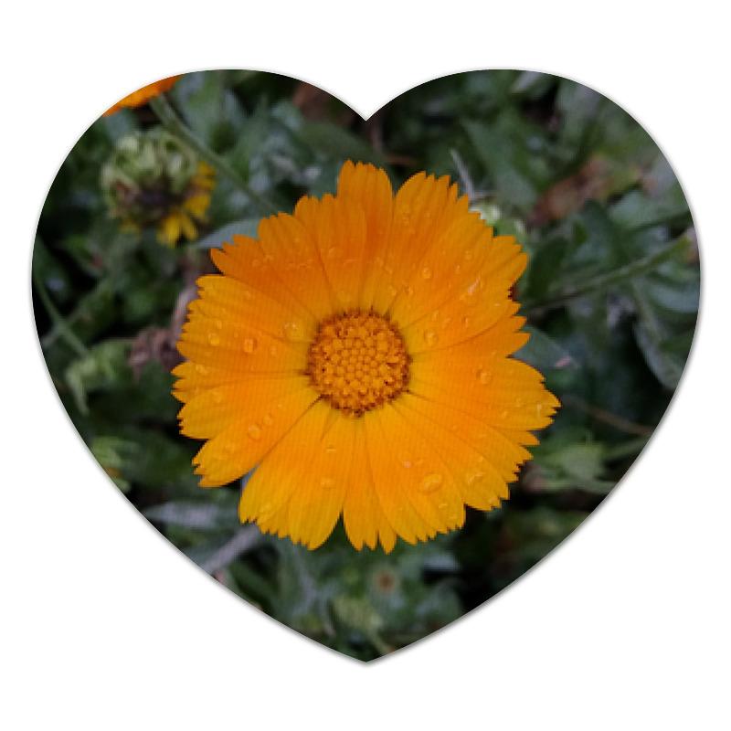 Printio Коврик для мышки (сердце) Летние цветы