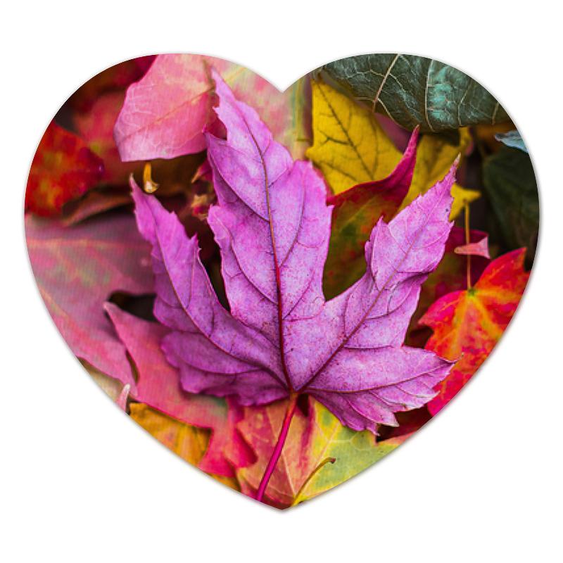Printio Коврик для мышки (сердце) Осень