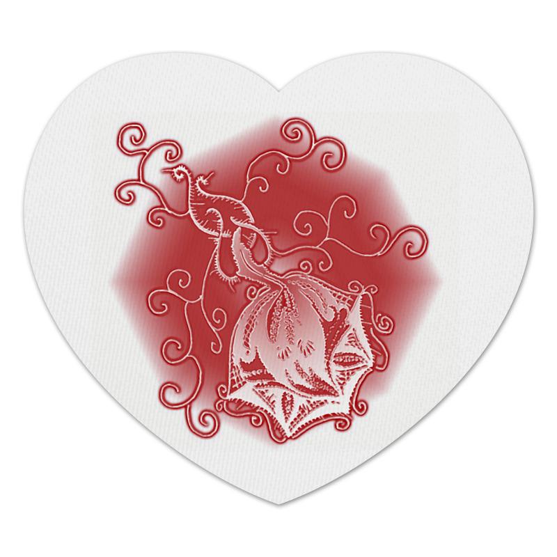 Фото - Printio Коврик для мышки (сердце) Ажурная роза printio коврик для мышки золотая роза