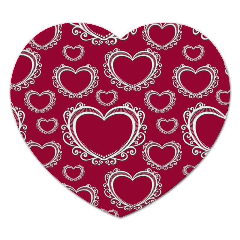 printio коврик для мышки шварц со своим кумиром александром невским Printio Коврик для мышки (сердце) Сердца