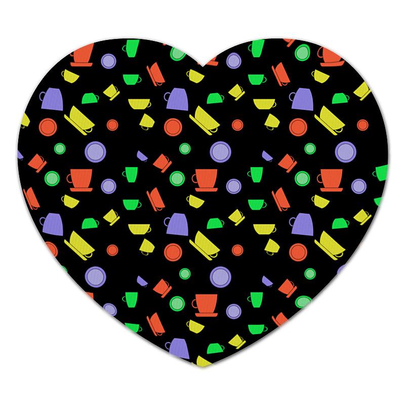 Фото - Printio Коврик для мышки (сердце) Чашки printio коврик для мышки круглый чашки