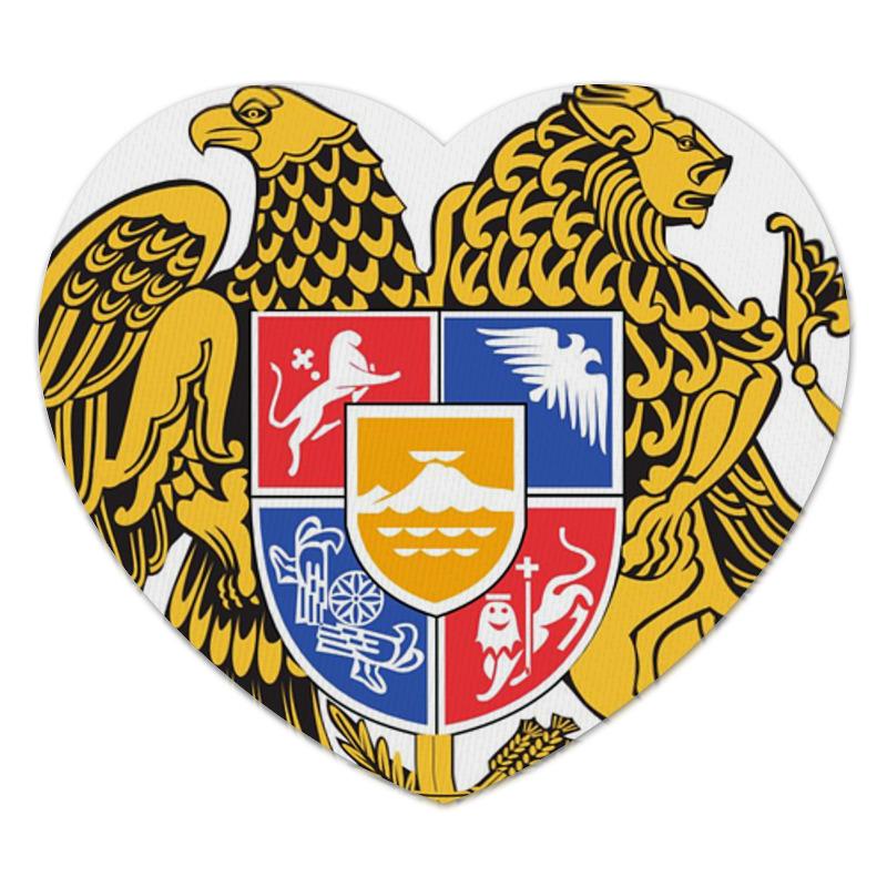 Printio Коврик для мышки (сердце) Герб армении