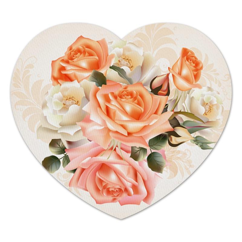 Фото - Printio Коврик для мышки (сердце) Чайная роза printio коврик для мышки золотая роза