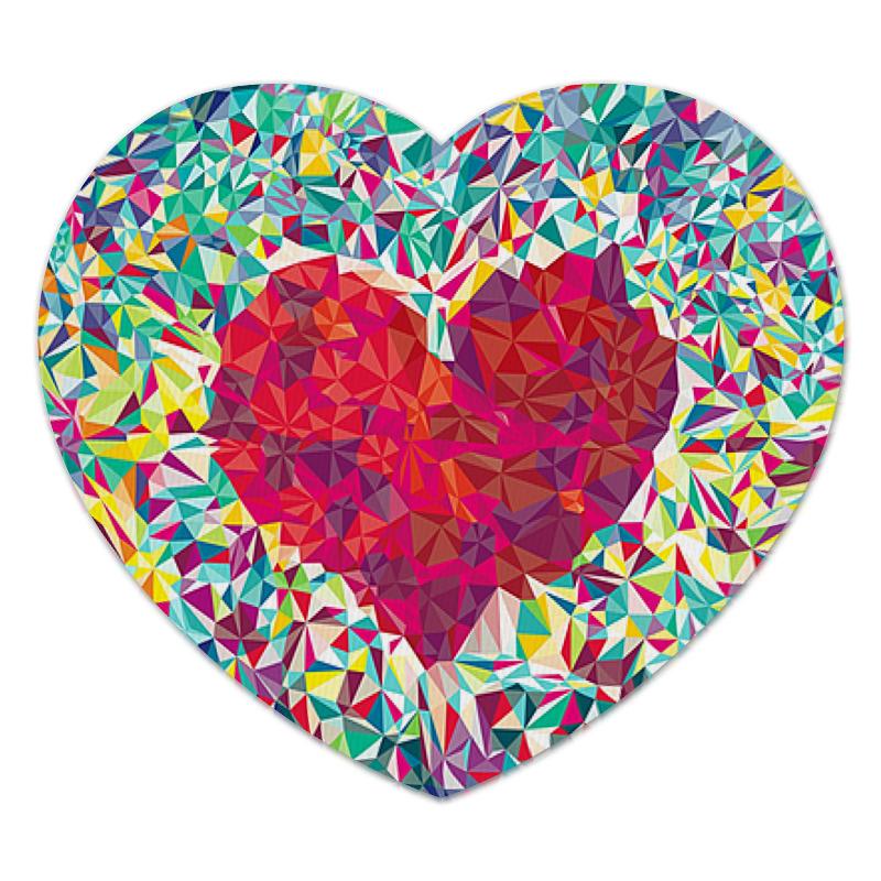 Printio Коврик для мышки (сердце) Сердце printio коврик для мышки круглый сердце