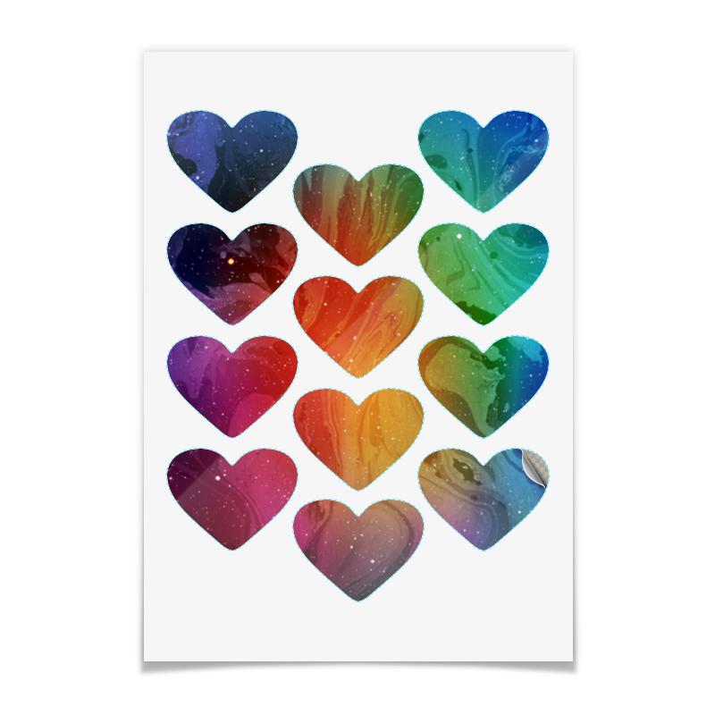 Printio Наклейки-сердца 5×6.5 см Без названия