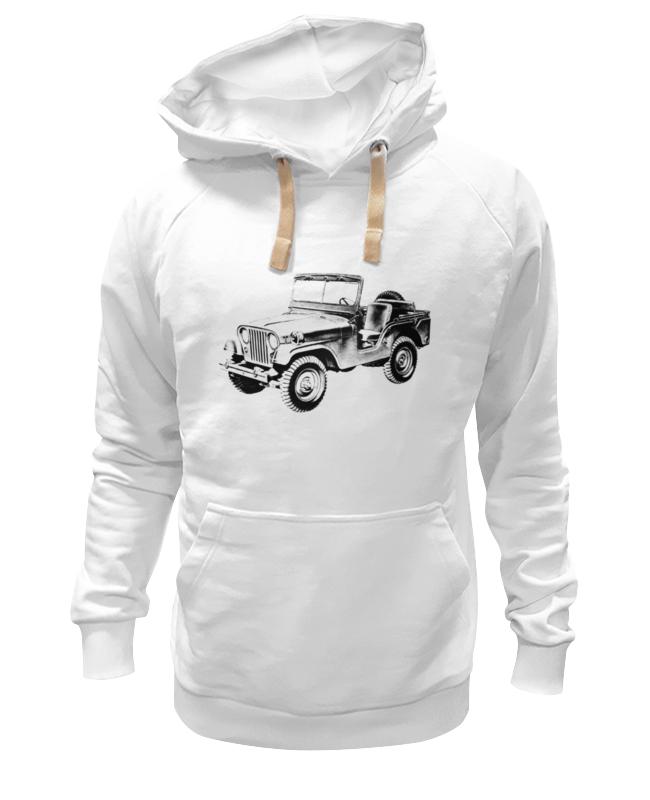 Printio Толстовка Wearcraft Premium унисекс Настоящий джип 4х4