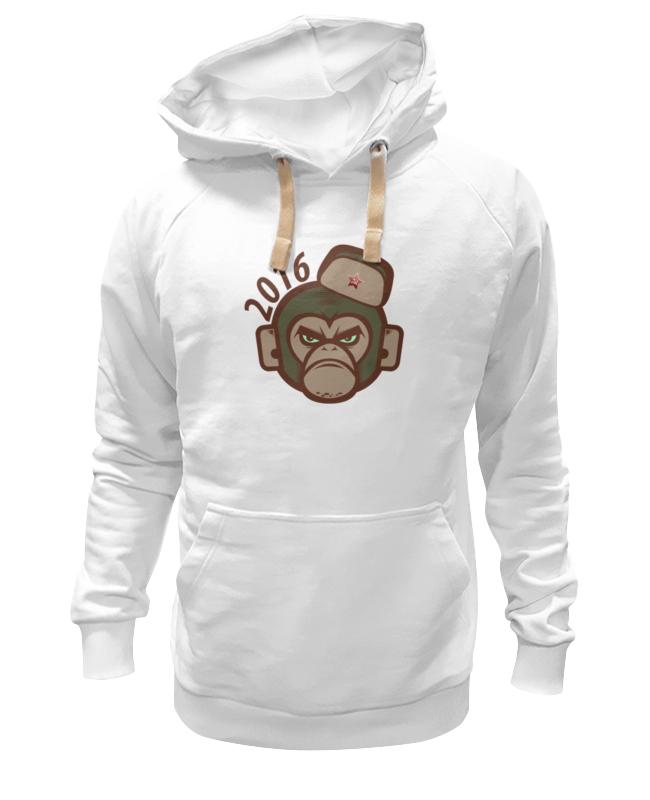 printio футболка wearcraft premium slim fit обезьяна символ нового 2016 года Printio Толстовка Wearcraft Premium унисекс Обезьяна - символ нового 2016 года.
