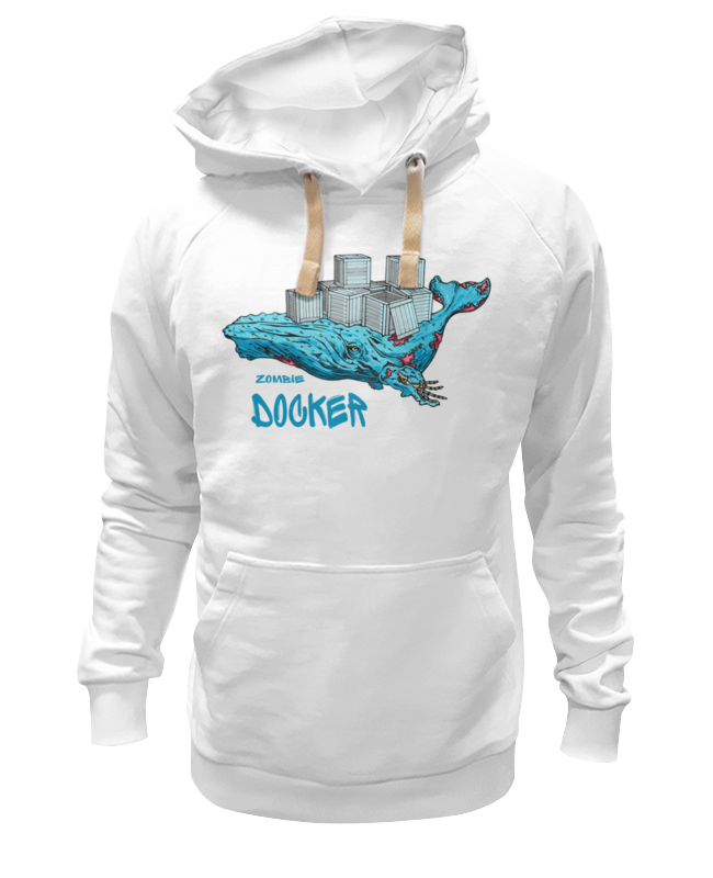 Printio Толстовка Wearcraft Premium унисекс Докер
