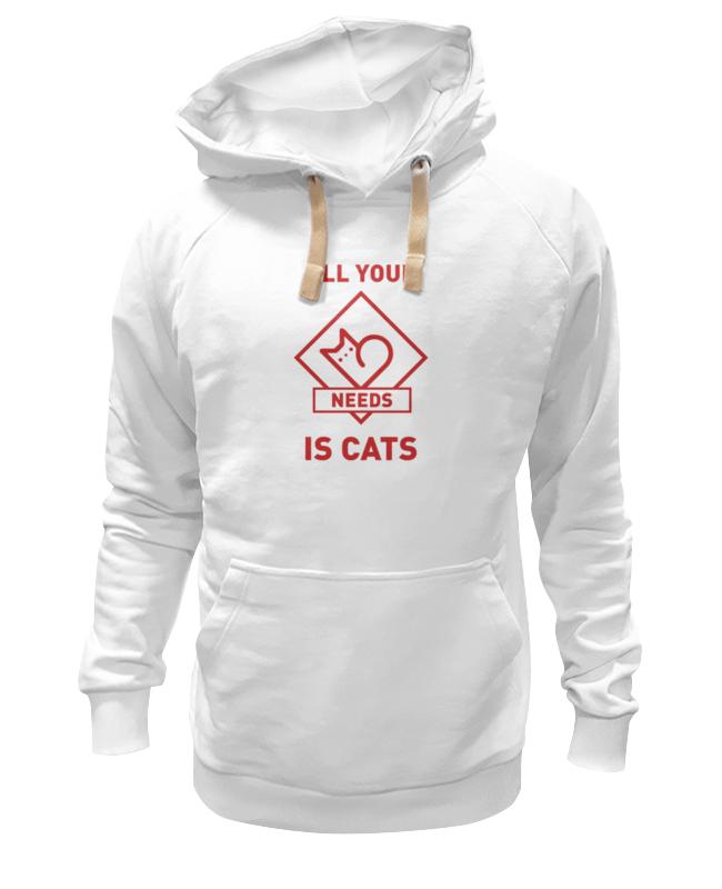 Фото - Printio Толстовка Wearcraft Premium унисекс All your needs is cats printio толстовка wearcraft premium унисекс open your mind