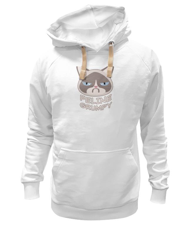 Printio Толстовка Wearcraft Premium унисекс Грустный кот (grumpy cat) printio толстовка wearcraft premium унисекс грустный кот grumpy cat