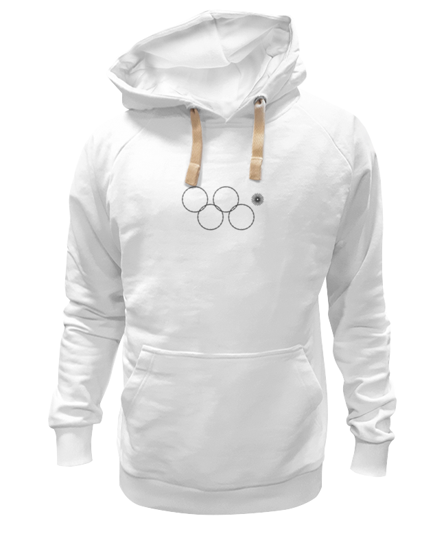 Printio Толстовка Wearcraft Premium унисекс Олимпийские кольца в сочи 2014