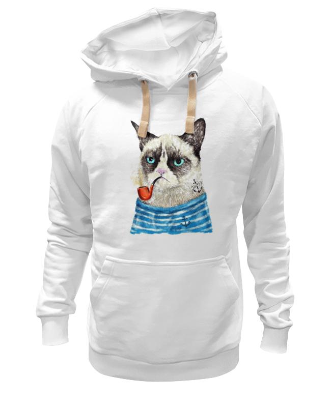 Printio Толстовка Wearcraft Premium унисекс Грустный кот printio толстовка wearcraft premium унисекс грустный кот grumpy cat