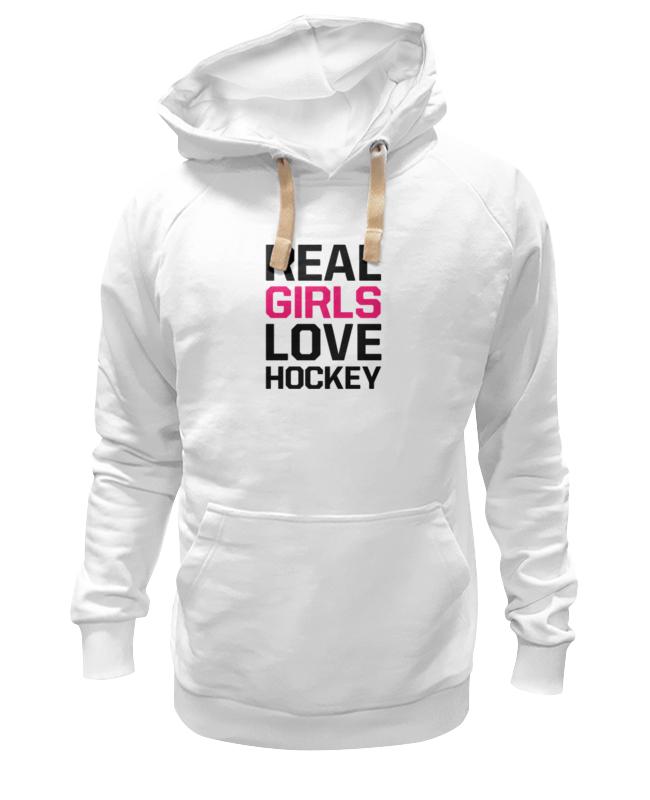 Printio Толстовка Wearcraft Premium унисекс Реальные девушки любят хоккей