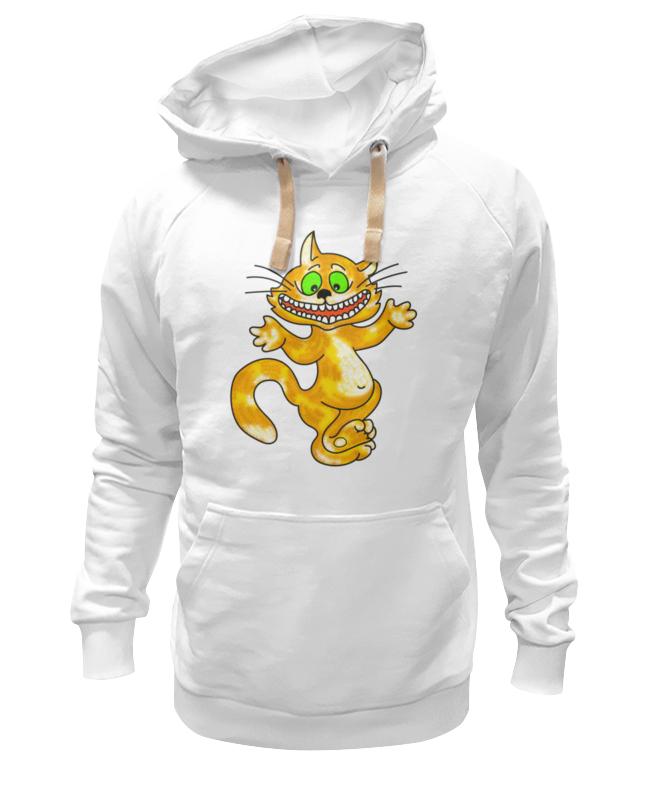 Фото - Printio Толстовка Wearcraft Premium унисекс Улыбка чеширского кота ультратонкая защитная накладка soft touch для samsung galaxy a32 с принтом улыбка чеширского кота черная
