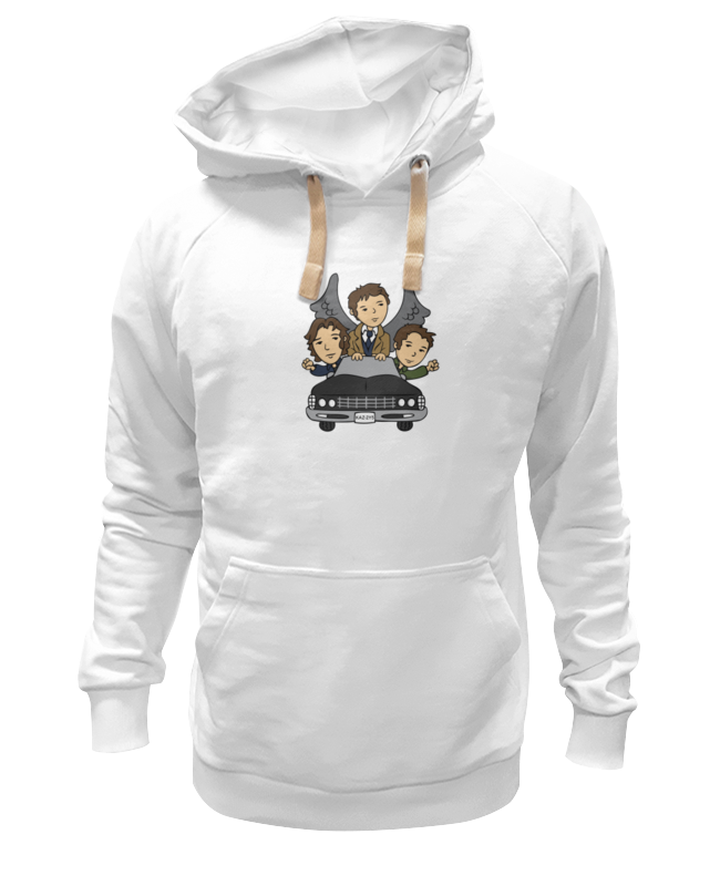 Printio Толстовка Wearcraft Premium унисекс Сверхъестественное (supernatural)