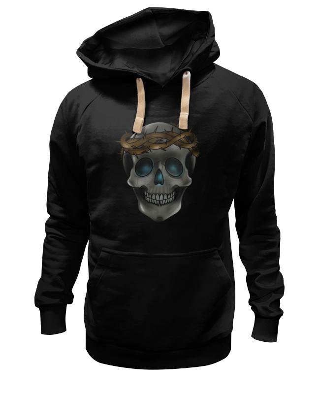 Printio Толстовка Wearcraft Premium унисекс Skull in a crown of thorns tshepo moloi place of thorns