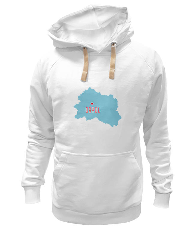 Printio Толстовка Wearcraft Premium унисекс Орловская область. орел