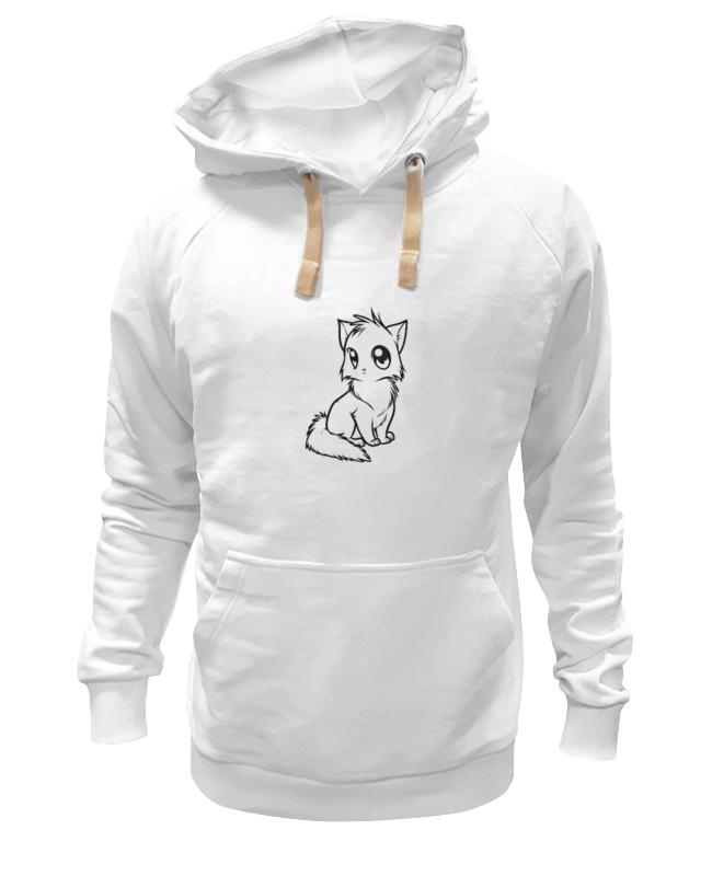 Printio Толстовка Wearcraft Premium унисекс Милый кот