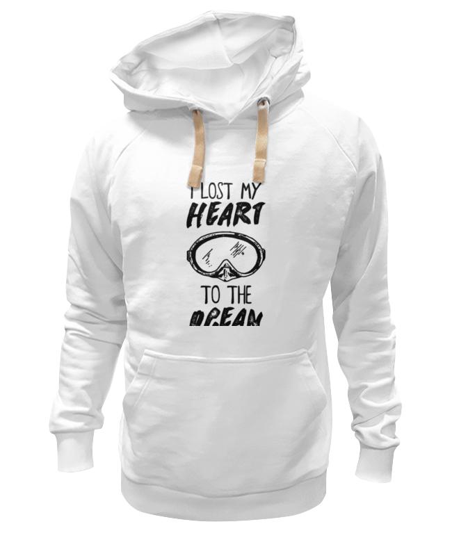 printio футболка классическая i lost my heart to the ocean Printio Толстовка Wearcraft Premium унисекс I lost my heart to the ocean