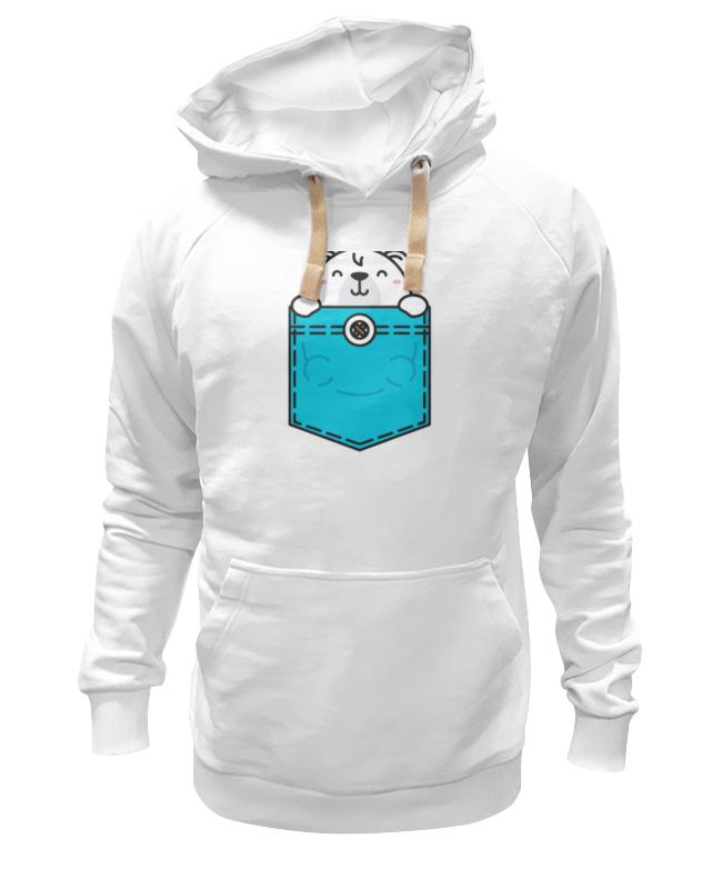 Printio Толстовка Wearcraft Premium унисекс Белый мишка