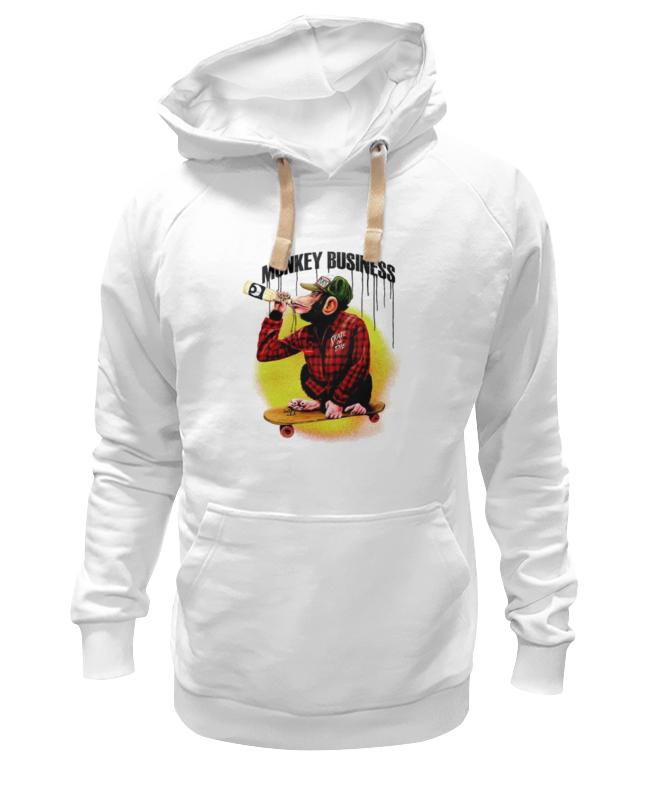 Printio Толстовка Wearcraft Premium унисекс Monkey (обезьяна)