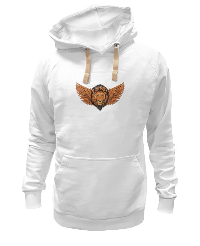Printio Толстовка Wearcraft Premium унисекс Крылатый лев