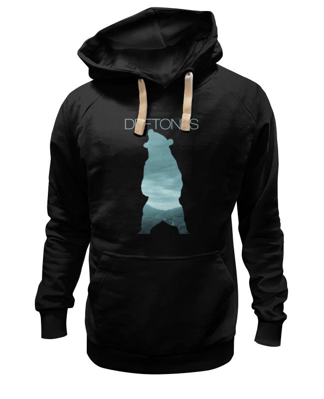 Printio Толстовка Wearcraft Premium унисекс Deftones медведь
