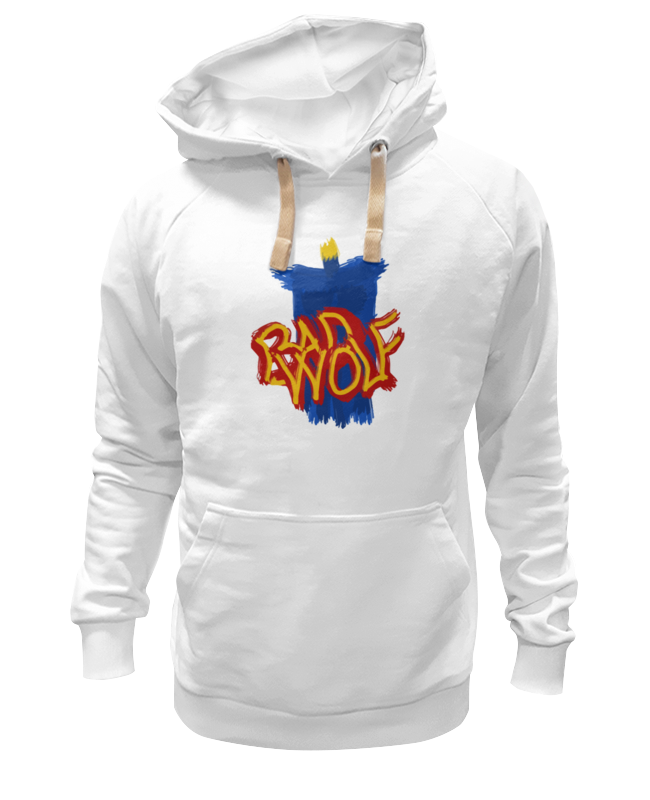 printio футболка wearcraft premium slim fit злой волк доктор кто Printio Толстовка Wearcraft Premium унисекс Злой волк (доктор кто)