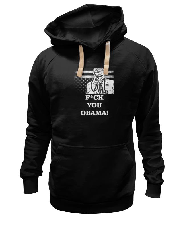 Printio Толстовка Wearcraft Premium унисекс F*ck you obama! недорого