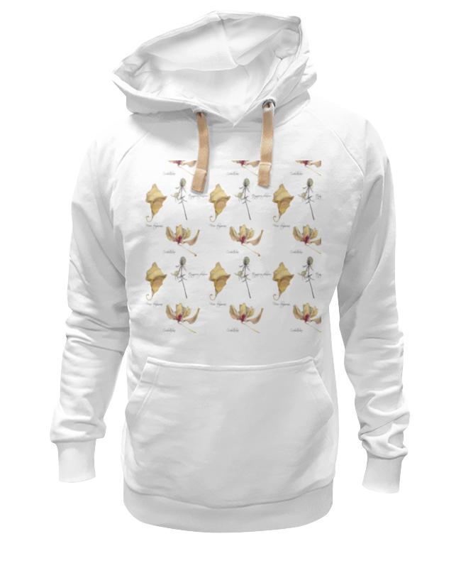 Printio Толстовка Wearcraft Premium унисекс Орхидея,лист и колючка