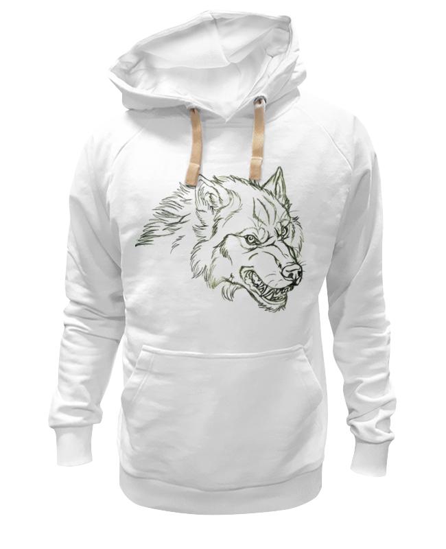 Printio Толстовка Wearcraft Premium унисекс Angry wolf толстовка
