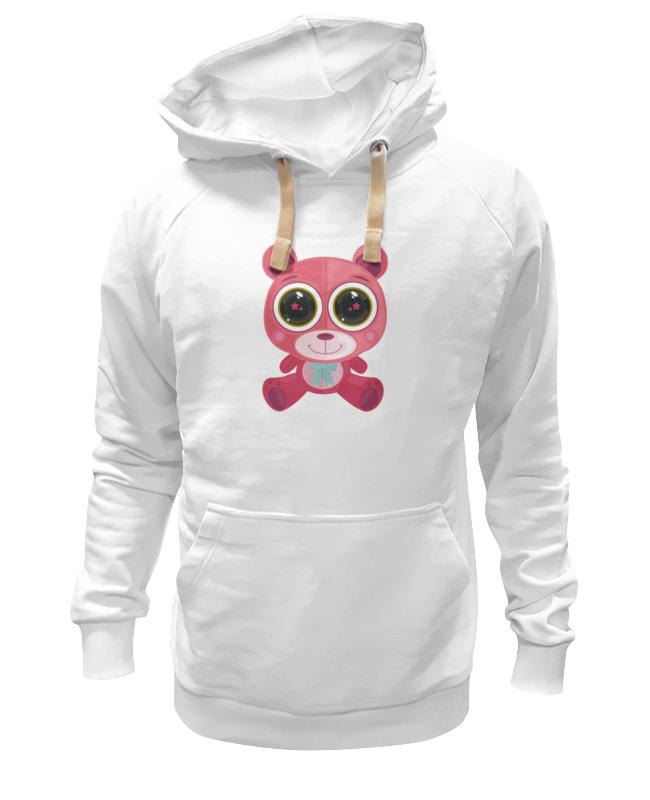 Printio Толстовка Wearcraft Premium унисекс Розовый мишка (bear)