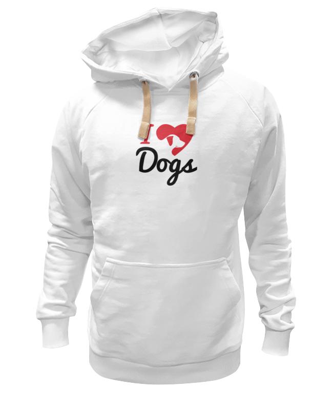 Фото - Printio Толстовка Wearcraft Premium унисекс Люблю собак printio футболка wearcraft premium люблю собак