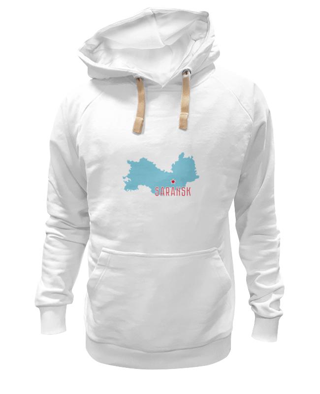 Printio Толстовка Wearcraft Premium унисекс Республика мордовия. саранск