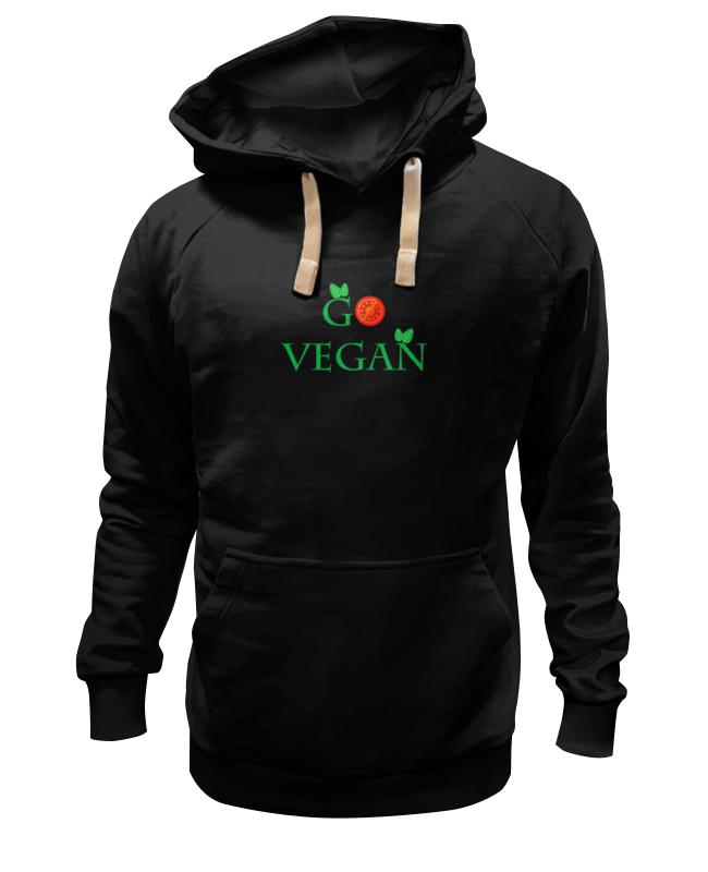 Printio Толстовка Wearcraft Premium унисекс Go vegan