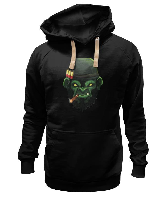Printio Толстовка Wearcraft Premium унисекс War monkey/обезьяна