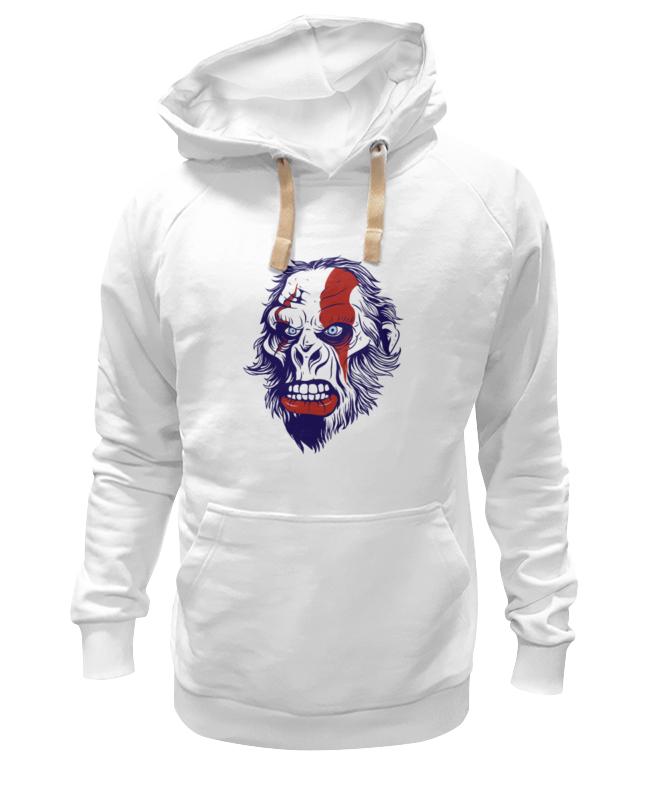 Printio Толстовка Wearcraft Premium унисекс Gorilla kratos printio футболка классическая gorilla kratos