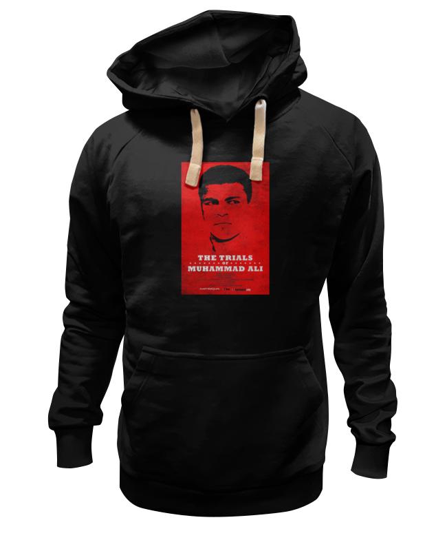Printio Толстовка Wearcraft Premium унисекс Muhammad ali / мухаммед али printio футболка wearcraft premium slim fit muhammad ali