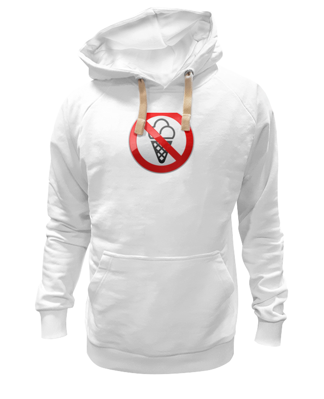Printio Толстовка Wearcraft Premium унисекс No ice cream недорого