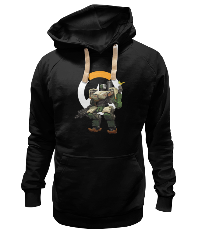 Printio Толстовка Wearcraft Premium унисекс Overwatch bastion / овервотч бастион