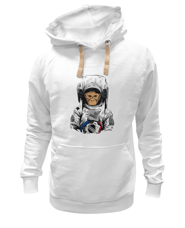 Printio Толстовка Wearcraft Premium унисекс Обезьяна космонавт